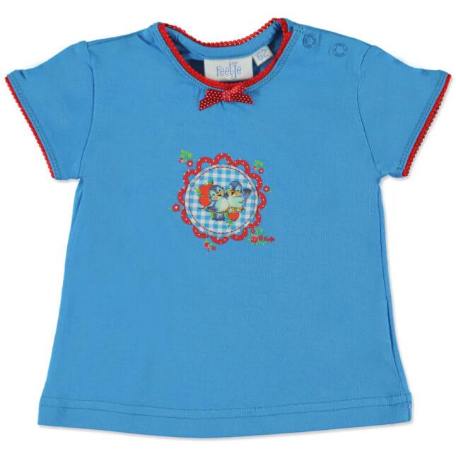 Niebieska koszulka dla dziewczynki