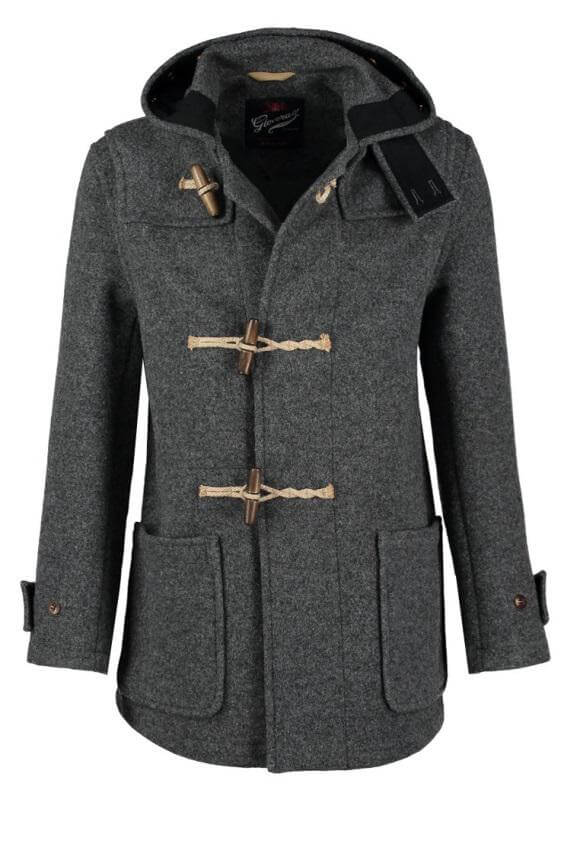 płaszcz ze sznurkiem