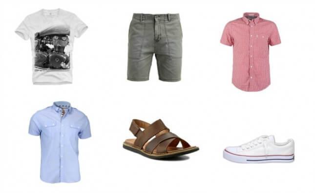 ubrania na lato dla faceta
