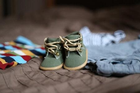 Używane buciki i ubranka