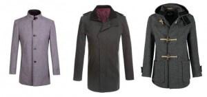 Modne płaszcze dla mężczyzny
