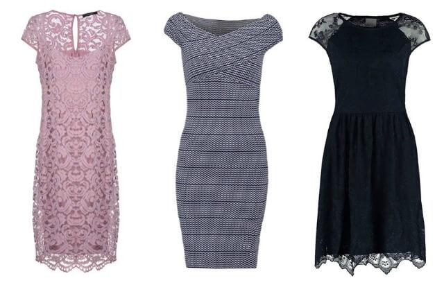 Sukienki z krótkim rękawem