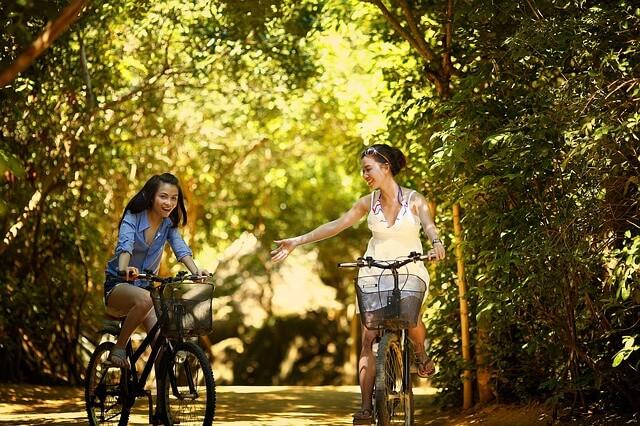 kobiety na rowerach