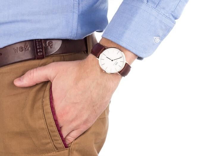 Zegarek na ręku