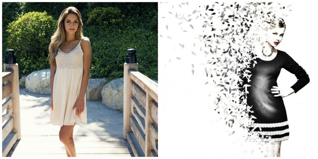 Modelki w krótkich sukienkach